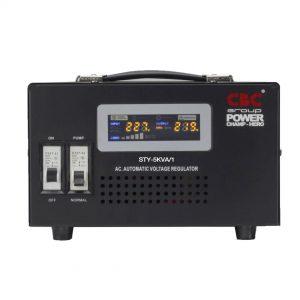 เครื่องปรับแรงดันไฟฟ้าอัตโนมัติ (AC Stabilizer) 5KVA 4500W
