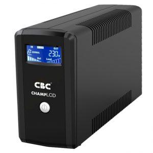เครื่องสำรองไฟ (UPS) รุ่น CHAMP LCD1000VA 600W