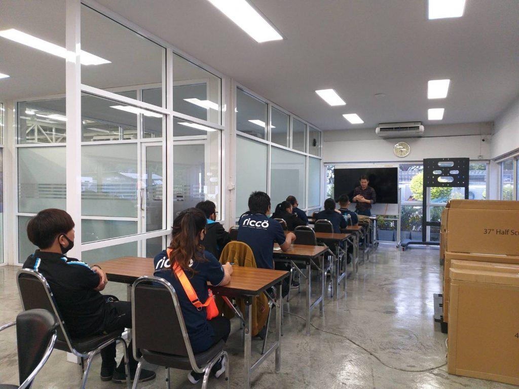 งานสัมนาเทรนนิ่งการใช้งานผลิตภัณฑ์แบรนด์ XIAOMI